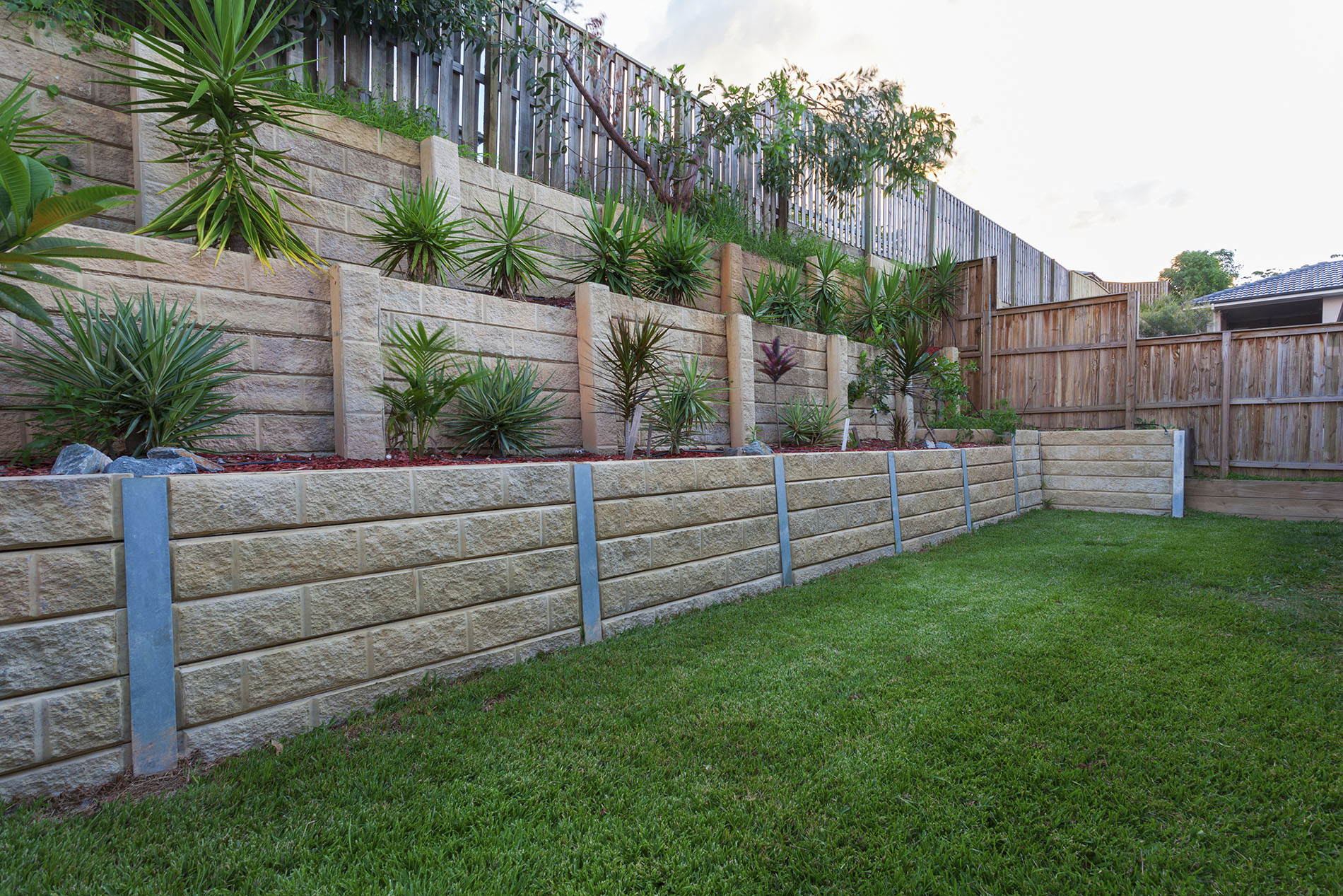 Retaining wall Wellington